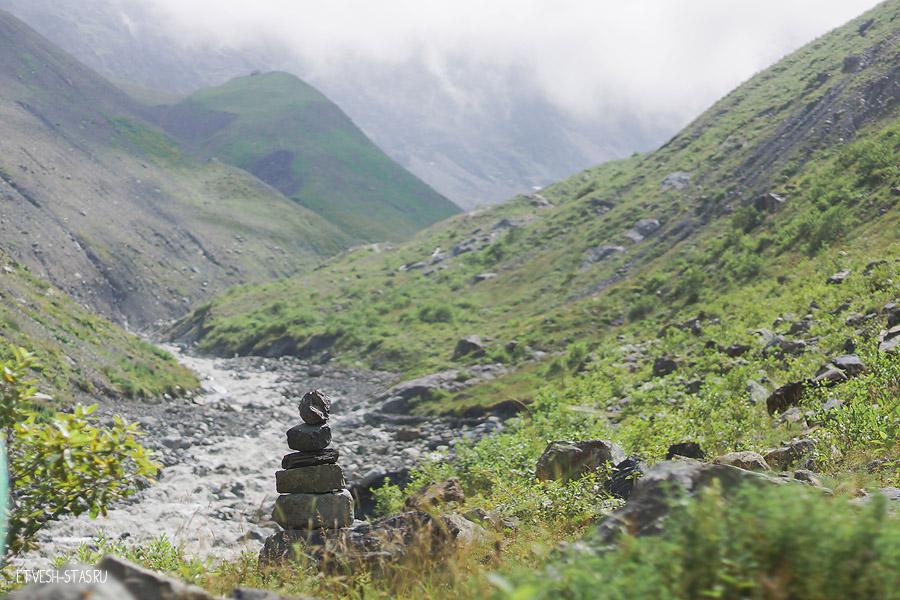 """Не редко можно встретить такие вот """"турки"""" обычно этим обозначают тропинки в горах."""