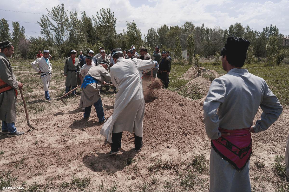 Похороны в Таджикистане
